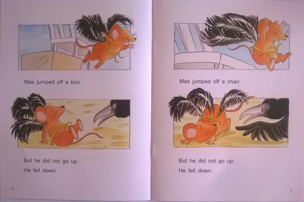 培生儿童英语分级阅读level2:想飞的麦克斯